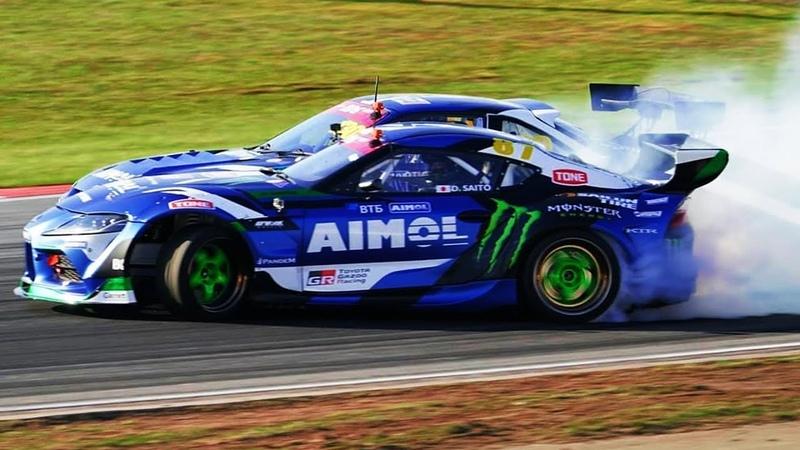James Deane Vs Daigo Saito Epic Drift Battle RDS GP 2021 Moscow Raceway