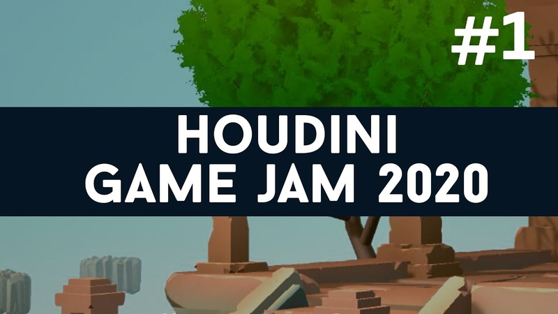 Houdini GameJam 1 Blindsight Meet me there