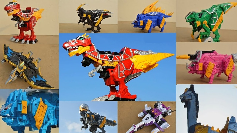 DX Gattai Zyuden Sentai Kyoryuger! DX 獣電戦隊キョウリュウジャー! Power Rangers Dino Charge Megazord