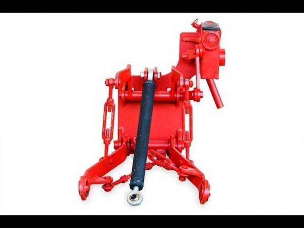 Трехточечный задний подъемный механизм для комплекта переоборудования мототрактора