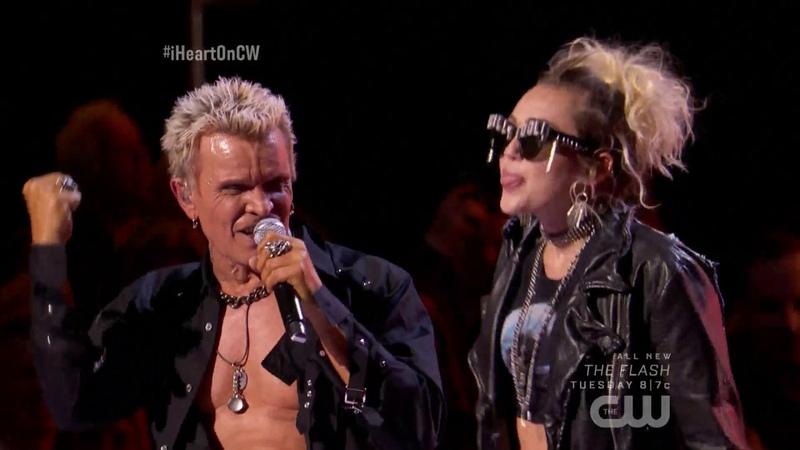 Billy Idol Miley Cyrus Rebel Yell Live iHeartRadio Music Festival 2016