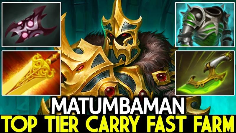 MATUMBAMAN Wraith King Top Tier Carry Fast Farm Against Hard Counter Dota 2