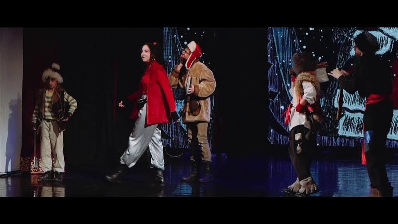 Образцовый театр Волшебная шкатулка Омск 8 17 Музыкальная сказка Новогодние приключения бременских музыкантов