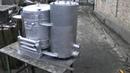 газогенератор поперечного процесса газификации для автомобиля жигули