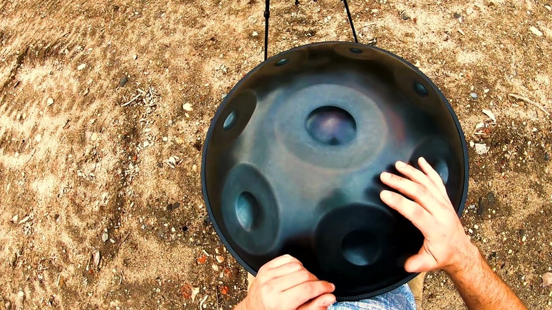 Рикки Хилсон 18 Note Handromeda Handpan Sky View Original Song