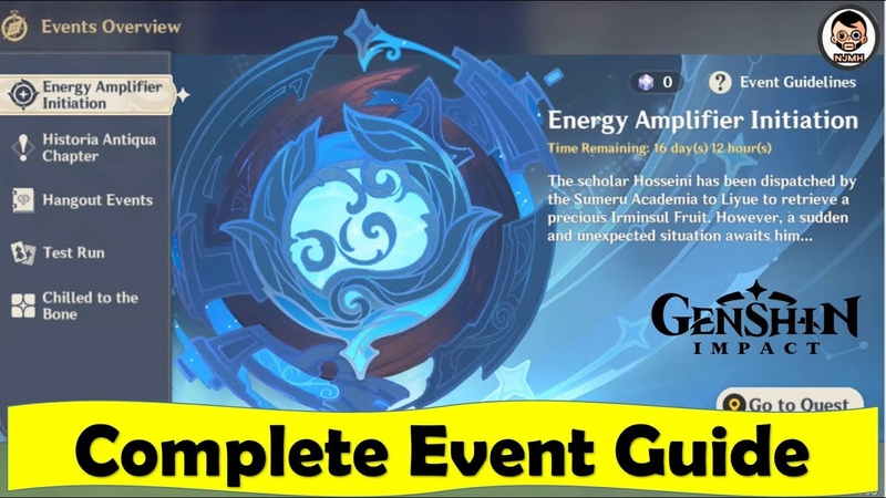 Energy Amplifier Initiation Event (Step by Step Guide) | Twisted Realm | Genshin Impact