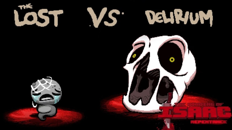 Tainted Lost VS Delirium 15 Second Kill Binding of Isaac Repentance