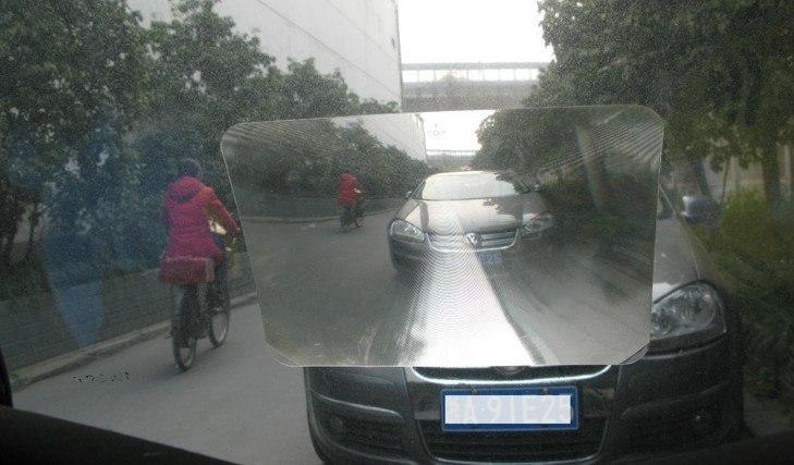 Парковочная линза Френеля для увеличения угла обзора