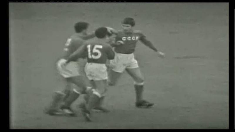 Szovjetunió Magyarország 2 1 1966 07 23 MLSZ TV Archív