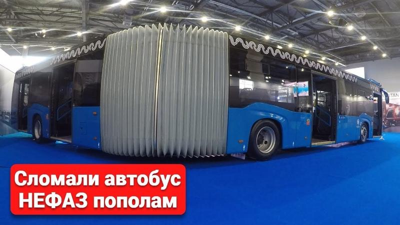 Сочленённый автобус НЕФАЗ