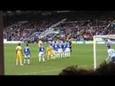 Peterborough-Newcastle, Joey Barton Free Kick