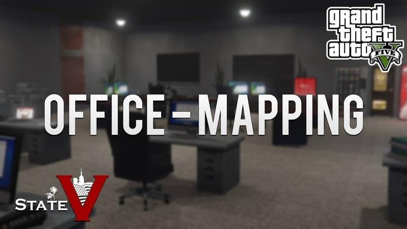 GTAV StateV - Büro-Innenraum [MAPPING]