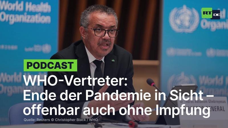 WHO-Vertreter Ende der Pandemie in Sicht – offenbar auch ohne Impfung