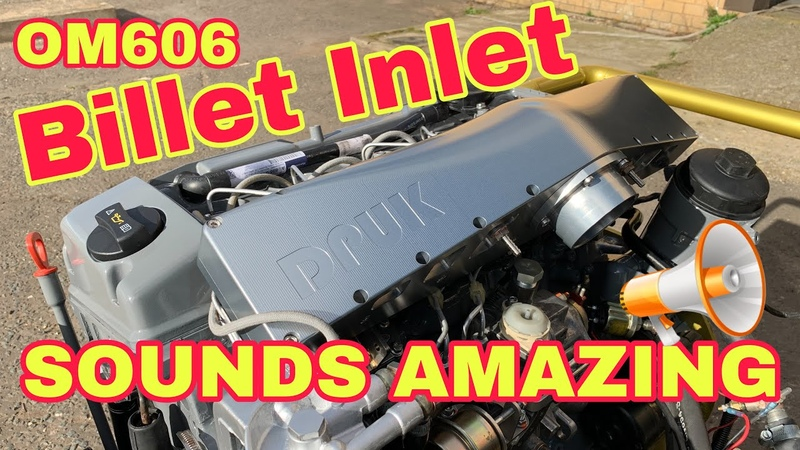 Best Sounding Diesel Engine Om606 Billet Inlet Dieselpumpuk