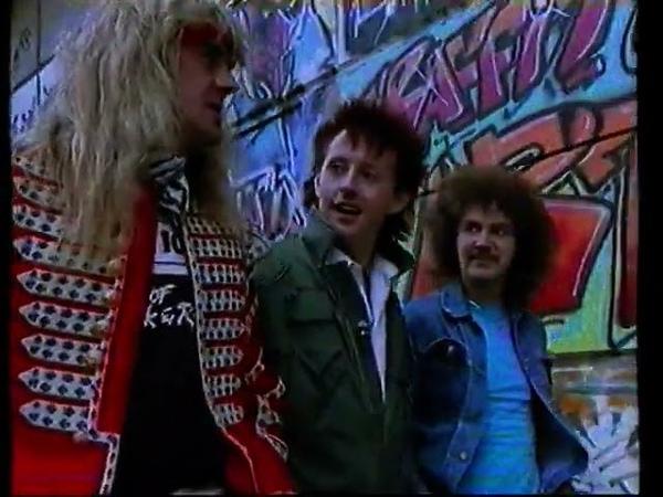Saxon 1986 interview Biff Graham London Calling