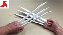 DIY - Как сделать КОГТИ РОСОМАХИ из бумаги А4 своими руками