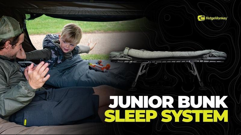 NEW! RidgeMonkey Junior Bunk Sleep System
