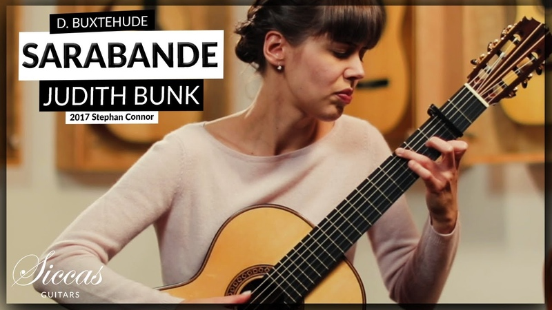 Dietrich Buxtehude, Sarabande from Suite in E minor BuxWV 236 by Judith Bunk on a Stephan Connor