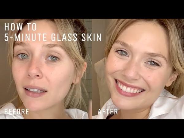 Elizabeth Olsen's 5 Minute Easy Radiant Skin Routine