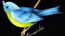 Учимся рисовать Декоративную птицу. Живопись маслом - Жостово Арт Студия