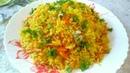 Рис с овощами Гарнир Как приготовить рассыпчатый рис!