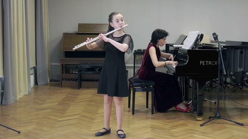 А Кочуров Романс Исп Саломея Царахова 10 лет флейта Ольга Бер фортепиано