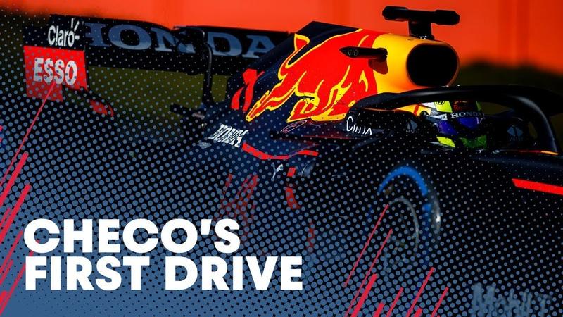 Формула 1 * Первые круги Переса в Ред Булл