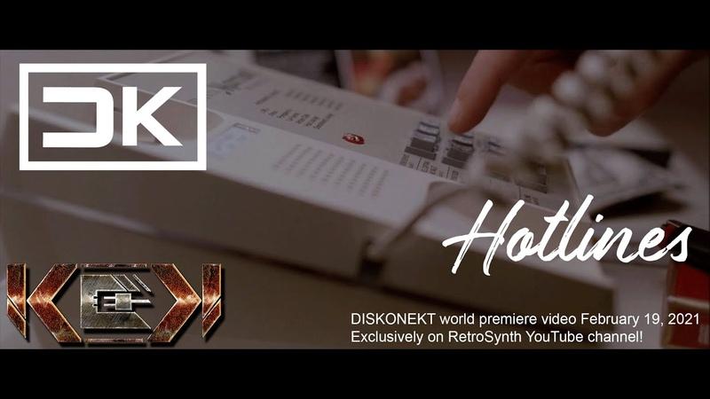 Chris Keya Hotlines Official Video DISKONEKT Synthwave Outrun