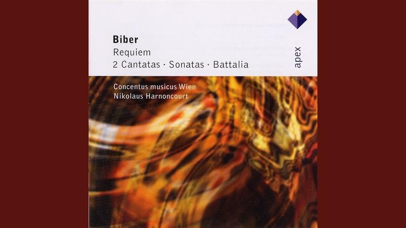 Biber Sonata violino solo representativa in A major