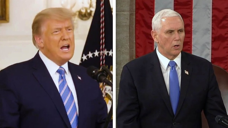 Vice President Pence Livid With Trump for Targeting Him