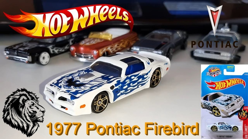 Машинка Хот Вилс - Hot Wheels 1977 Pontiac Firebird HW Flames 510
