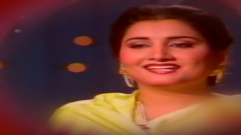 Naheed Akhtar - Melodious Song Composed By Music Director M.Ashraf For Ptv Lahore - Farrukh Bashir