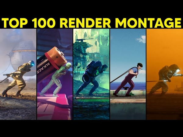 Top 100 3D Renders from the Internet's Largest CG Challenge Alternate Realities