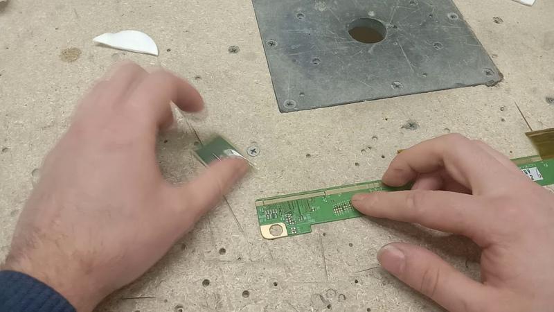 3M Z-Axis 9703 приклеиваем драйвер к планке матрицы без паяльника и геморроя! Анизотропный скотч