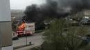 Пожар в Саранске Сгорел дом Короленко 49