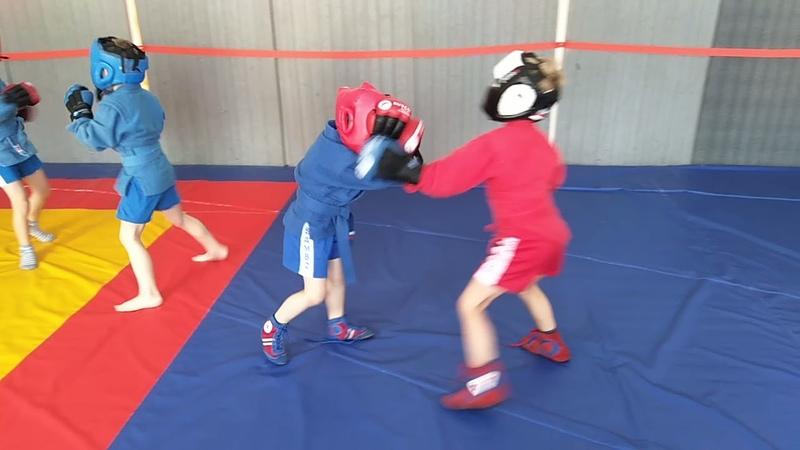 Тренировка младшей группы 5-7 лет, ударка 3👍👊💪🔥