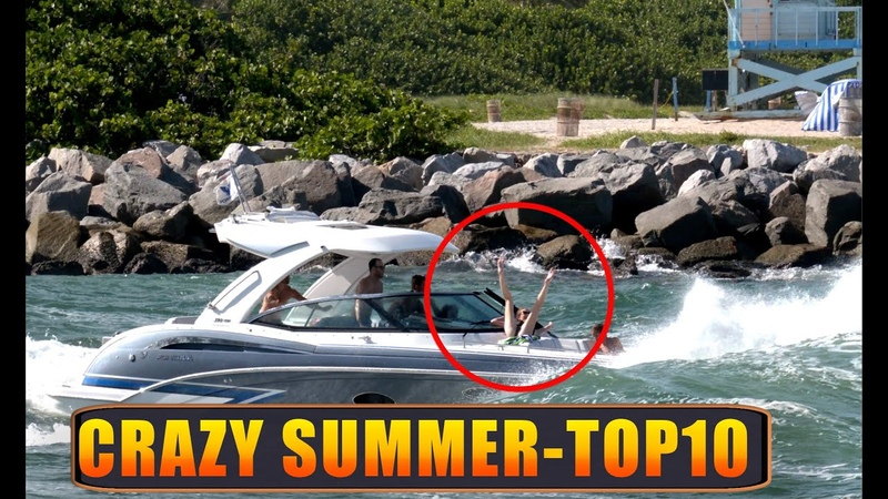 Craziest Summer Ever 2020 !! Top 10 !! Haulover Inlet Boats
