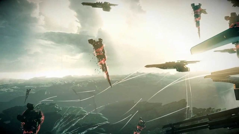 Killzone Shadow Fall Chap 9 The Destroyer Approach Stahl's Base in Dropship Action Sequence Echo