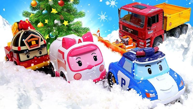 Melhores episódios de Natal com seus brinquedos preferidos! PJ Masks e Robocar Poli em português