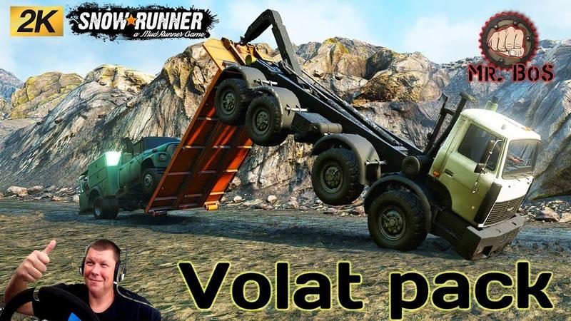 Volat Pack ЧЕСТНЫЙ ОБЗОР МОДА SNOWRUNNER