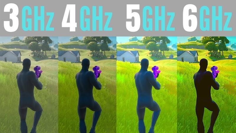 Fortnite CPU Clock Speed 3GHz vs 4GHz vs 5GHz vs 6GHz