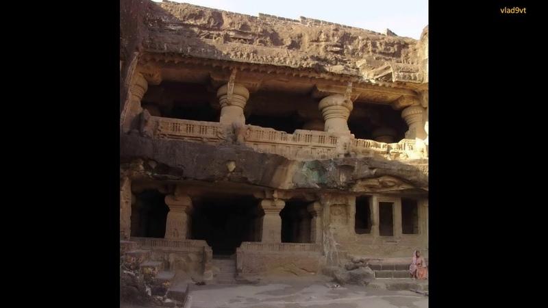 ELLORA basalt temple
