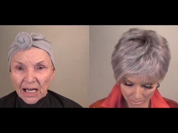 78-летняя женщина так искусно накладывает макияж, что выглядит на 20 лет моложе