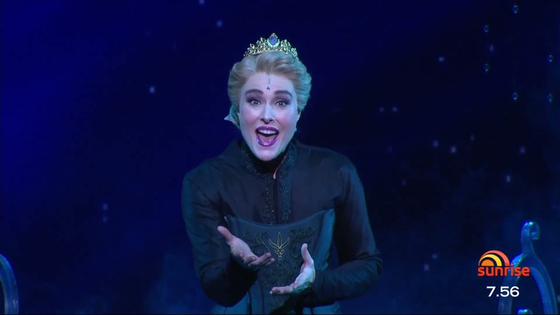 Let It Go - Frozen the Musical Australia (Sunrise Performance)