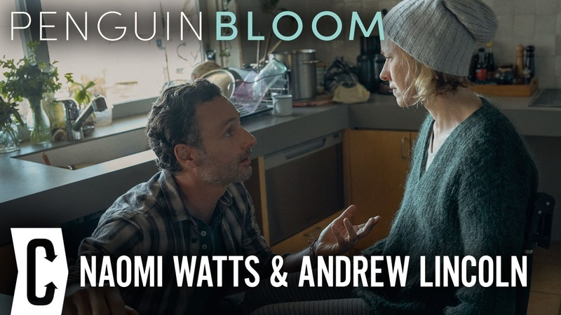 Naomi Watts and Andrew Lincoln Penguin Bloom Interview