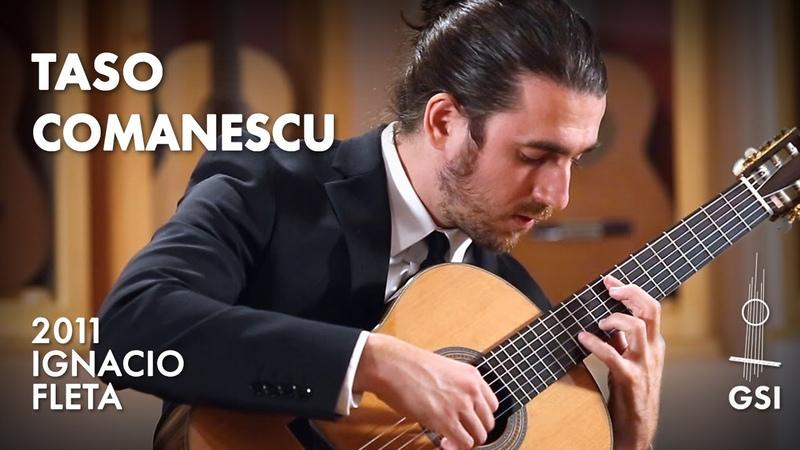 Agustín Barrios Mangoré's Oración por Todos performed by Taso Comanescu on a 2011 Ignacio Fleta