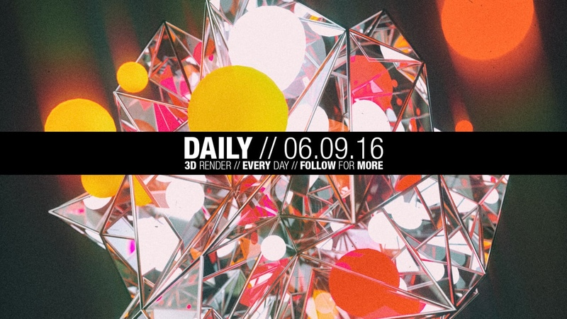 The Daily Render 06.09.2016 Timelapse Speedart MAXON Cinema 4D OTOY OctaneRender