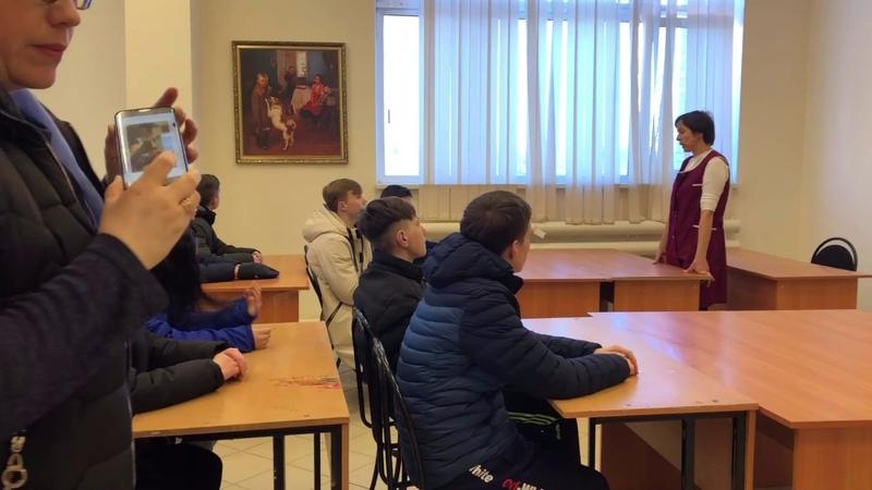 Экскурсия на Альметьевскую чулочно-носочную фабрику АЛСУ
