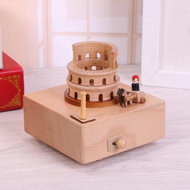 Необычная музыкальная шкатулка Колизей -
