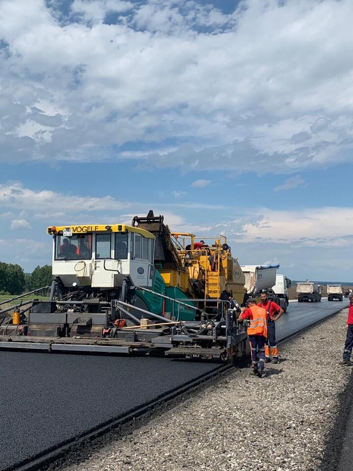 Строительство кузбасского автобана на завершающем этапе